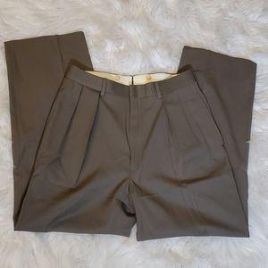 Polo by Ralph Lauren Wool Dress Pants Olive 30x29